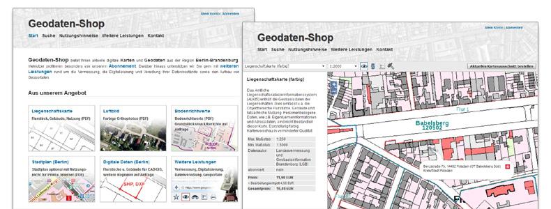 Geodaten-Shop